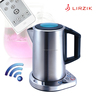 Smart kitchen appliance, WIFI moudle+APP+MCU long-range control S/S cordless electric kettle