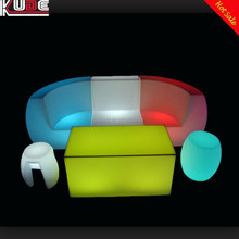 Night Club Used LED Furniture/Glowing Furniture/Modern LED Bar Furniture With Rermote Control