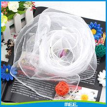 70 * 70 CM carré en mousseline de soie soild bonbons couleurs voile jonglerie écharpe