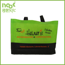 non woven bag print with new Layered color cheap promotion method