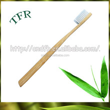 disposable Bamboo handle adult toothbrush for hotels
