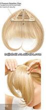 top sale 1 pcs triangle hair bang in yiwu 100%ramy hair
