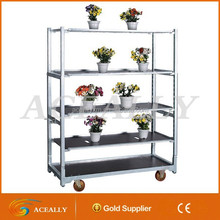 2015 hot sale greenhouse metal flower pot rack
