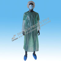 Hot! Medical isolation gown / disposable ppe gowns