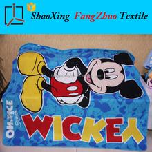 Mickey mouse printed baby throw blanket polar fleece blanket plush