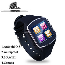 Android 4.4 Smart Watch Phone 1.54 Inch gsm 3g smart watch mobile phone