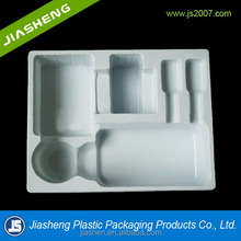 2015 Newest alibaba china PP/PET/PS/PVC White eco-friendly Plastic medication Tray Insert Tray For Medicine