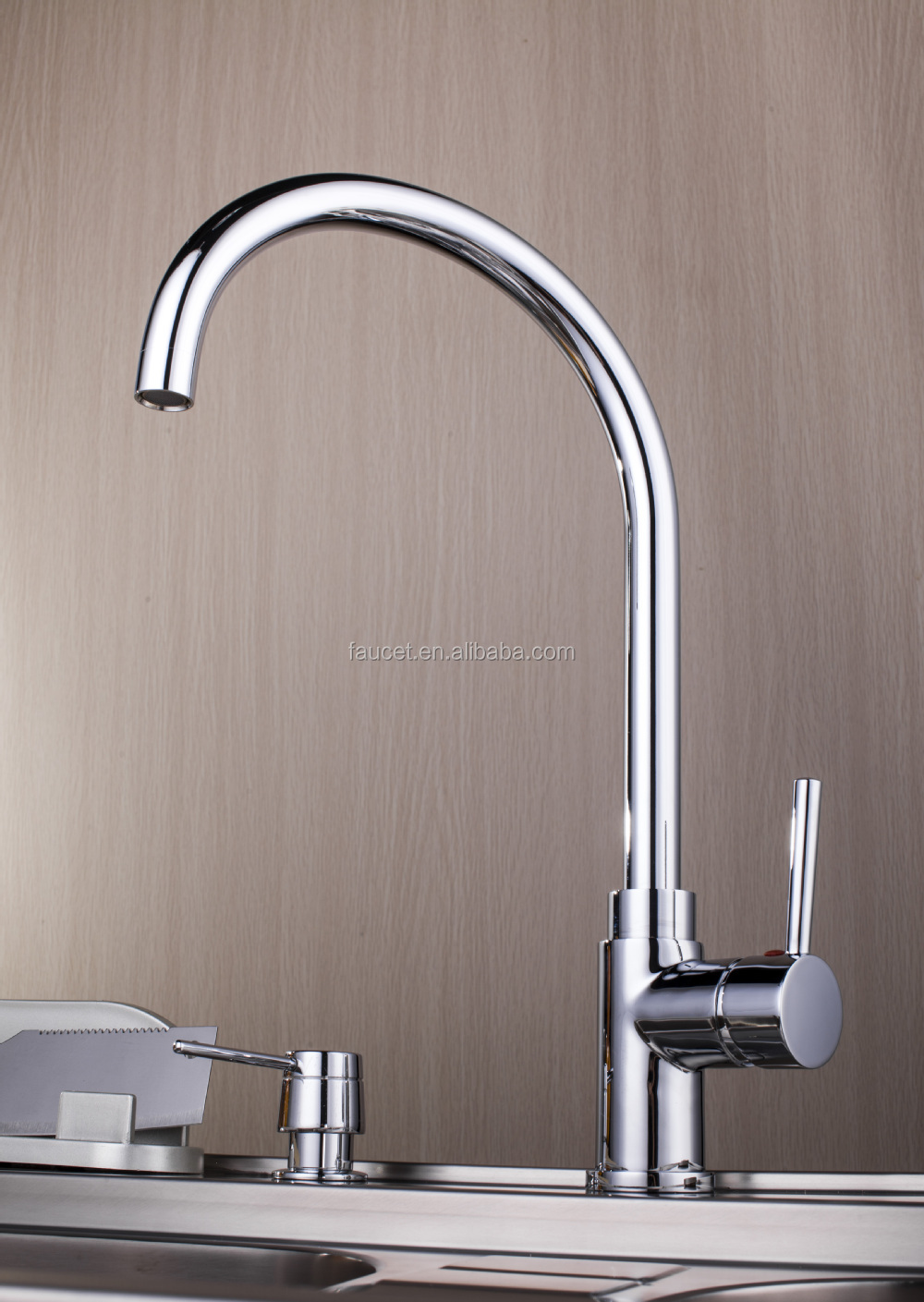 Copper 61 9 Nsf Kitchen Faucet With Goose Neck Spout Buy 61 9 Nsf Kitchen Faucet 61 9 Nsf