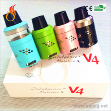 Tank system vivi tank clearomizer with wick changeable for e-cigarette VS Mutation X V4