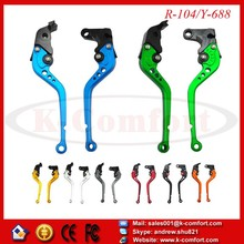 KCM101 Brake Clutch Levers for Yamaha YZF R1 04-08 R6 05-13 R6S CANADA VERSION 06 R6S EUROPE VERSION 06-07