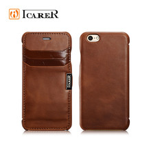 Vintage Brown Genuine Leather Case For iPhone 6