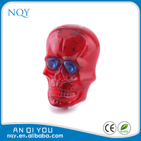 Red Skull led bike bicycle laser beam rear tail light