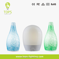 Feshionable reading cut glass table lamp