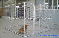 1large dog run 10' x 10' x 6' chain link animal cage for sale factory direct