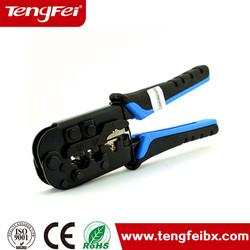 RJ45 RJ11ethernet cable crimper crimping tool