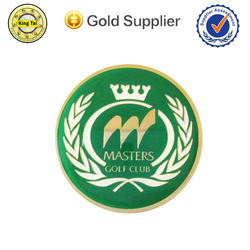 car logo badge modern design lapel pin brass car emblem