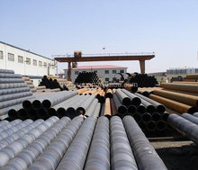 Spiral Welded steel pipe for waste watertreatment pipeline with 3PP coatting, SSAW STEEL PIPE