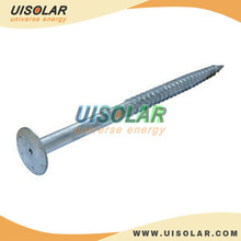ground screw for solar panel mounting , solar panel ground installation