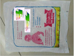2015 Newly Produced Plastic PVC Disposable Baby Diaper