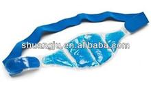 blue gel beads hot cold compress pack for knee