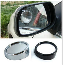 1000pcs Wide Angle Round Convex Car Vehicle Mirror Blind Spot Rear View Messaging DHL Freeshipping
