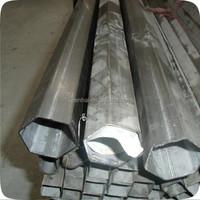 Alibaba China Wholesale 304 Stainless Steel Tube Hexagonal