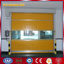 New design YQRD0101 metal door detector pu foaming machinery to make garage rolling door with great price