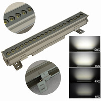 Waterproof IP65 Led linear lighting fixture dimmable outdoor led lights Wall washer