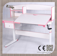 easily install children height adjustable kids desk and chair set