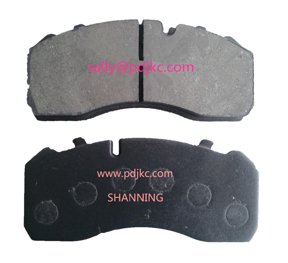 Brake Pad Material Types : Brake pad for iveco wva view eurocargo