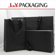Paper bag luxury color hot selling garment/shoes package promotional kdress paper packaging bag
