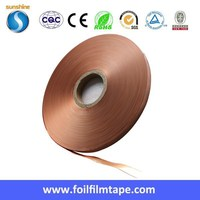 copper foil laminate polyester film CU PET Tape for EMI & RFI