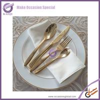 16040 wholesale gold wedding china used morden hot seller set dinnerware