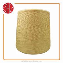 viscose blend yarn viscose/wool 80/20 36nm dyed color yarn
