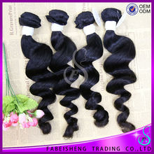 100% Unprocessed Virgin Raw Remy Malaysian Hair Weave Loose Curly