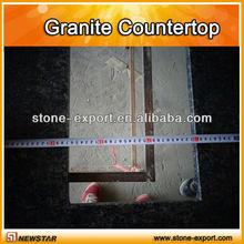 granite cook round small island