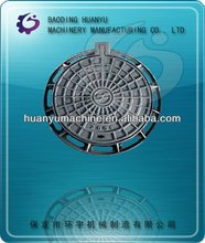 QT500-7 Clay Sand Casting Manhole Cover