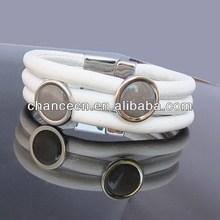Leopard bracelet set braided bracelet for sale cotton wood bracelet weave fashion