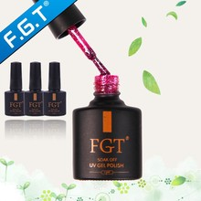 FGT High Quality free samples and easily soak off uv/led gel nail polish