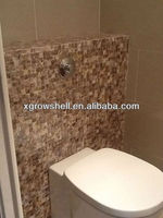 square seamless dapple freshwater shell mosaic in size 20*20mm,bathroom tile
