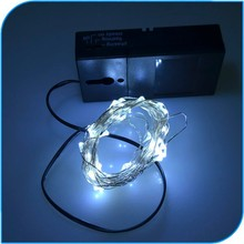 New Products 2015 Battery operated Timer Led Mini Copper Wire String Lights Christmas Led
