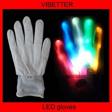 Rave Party Decoration/Flashing LED Gloves/Party Supply