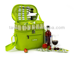 600D Picnic Bags for 2 Persons,Lunch Carry Bag