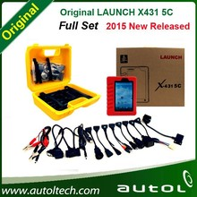 2015 Newest LAUNCH X431 5C 5 Wifi/Bluetooth Tablet Diagnostic Tool Full Set Support Online One Click Update Launch X431 5C V