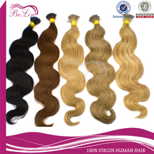 2016 New Design Double Drawn Remy russian hair keritan bonds