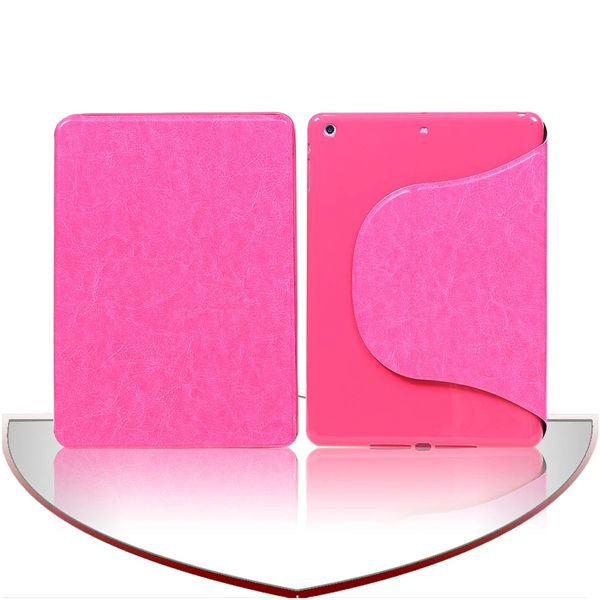 TPU&PU case for iPad air cover