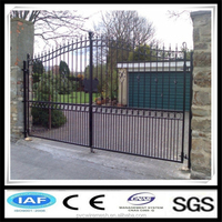 The new design of wrought iron gate malaysia china factory