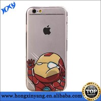 Cartoon case for iPhone 6 soft TPU material Hit The Glass Series