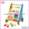 2013 de madera educativo del juguete / de múltiples funciones del bebé del cochecito de moda para niños