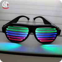 Wholesale China Small Fast Selling Items Custom Rechargeable Led Voice Control Led Glasses Party